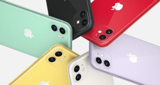 Обновленный смартфон iPhone 11