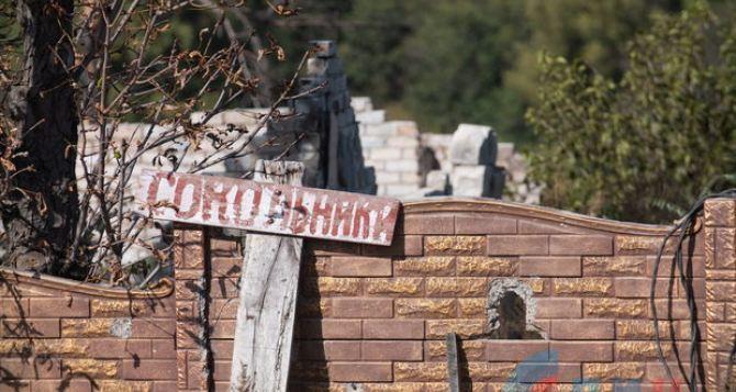 Из-за обстрелов село Сокольники под Славяносербском покинули все жители. ФОТО