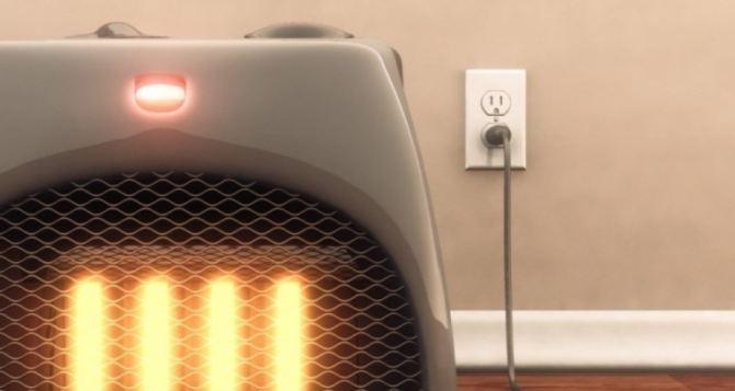Правила пожарной безопасности при использовании электрообогревателей