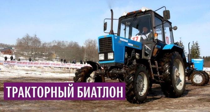 Соревнования по тракторному биатлону проведут в Новоазовске 12октября