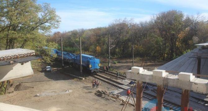 Штеровский мост восстанавливают почти год. ФОТО