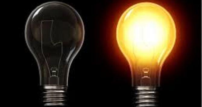 Отсутствие электроснабжения в Луганске 11октября