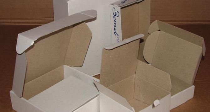 Самосборные коробки и ящики из микрогофрокартона