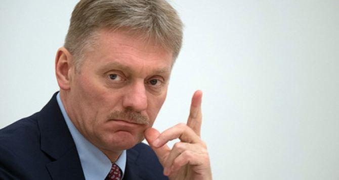 В Кремле прокомментировали идею Зеленского о миротворцах на границе Украины иРФ