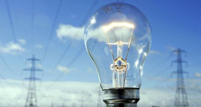 Отсутствие электроснабжения в Луганске 14октября