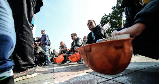 Шахтеры Донбасса готовятся к массовым протестам