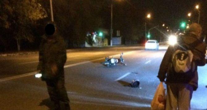 В районе третьей горбольницы автомобиль сбил мотоциклиста