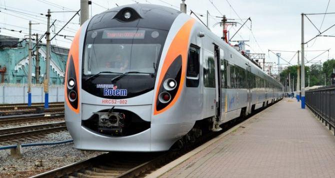 В «Укрзализныце» рассказали, когда будет возможен запуск поездов «Интерсити» в Луганскую область