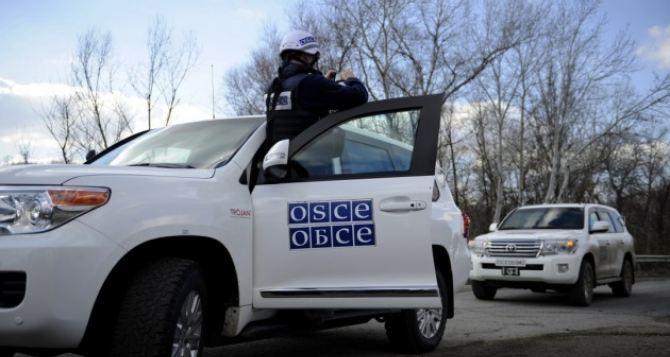 ОБСЕ зафиксировали обстрел в районе Петровского, в 5 км от зоны разведения