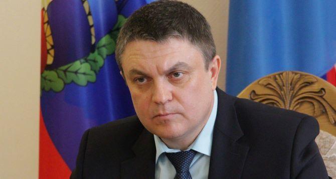 Леонид Пасечник призвал луганчан соблюдать спокойствие. Начались учения по по ликвидации последствий кризисных ситуаций