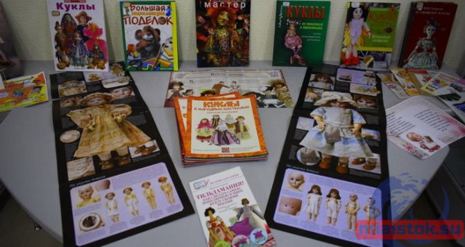Выставка кукол открылась в луганской бибилиотеке
