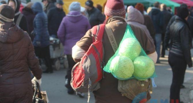 Дешевые яблоки, шашлыки, концерты и фото с депутатом ГосдумыРФ. В Луганске— праздничная ярмарка