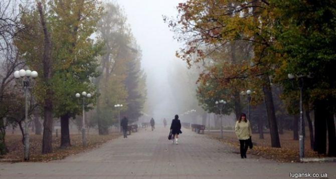 Метеорологи прогнозируют туман 8ноября в Луганске