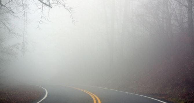 Туман ожидается 12ноября в Луганске