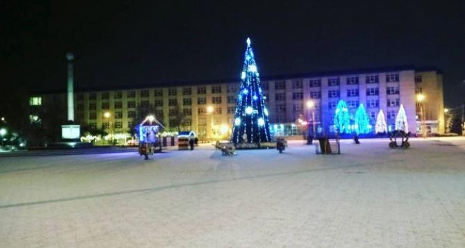 В Северодонецке на Новый год будет меньше выходных, чем в Луганске