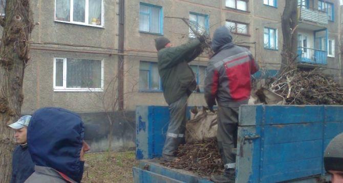 Мероприятия по благоустройству продолжаются в Луганске