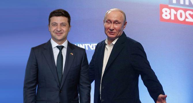 В Кремле считают, что встреча Зеленского и Путина «один на один» вполне может состояться
