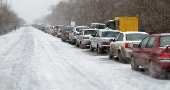Ситуация на КПВВ сегодня, 4декабря. Пассажиро-транспортный поток растет