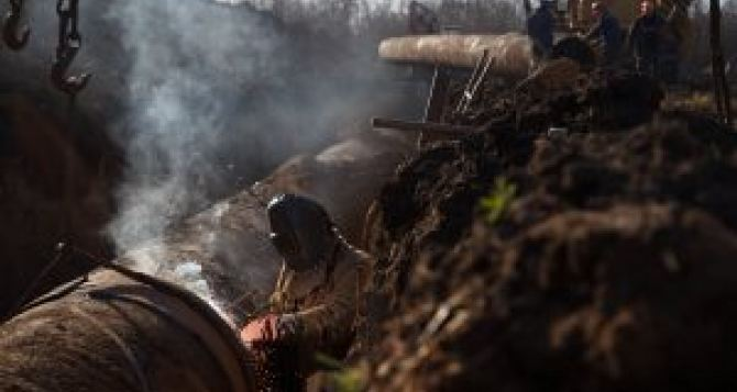 Красный Луч и Вахрушево без воды до окончания ремонта водовода