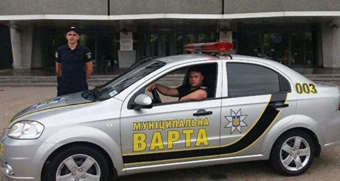 У Зеленского хотят, чтобы Луганск патрулировала муниципальная стража
