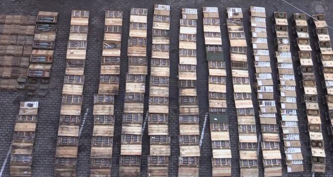 В районе Станицы Луганской найден крупной тайник боеприпасов