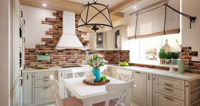 Кухонный стол: подбираем материал и форму