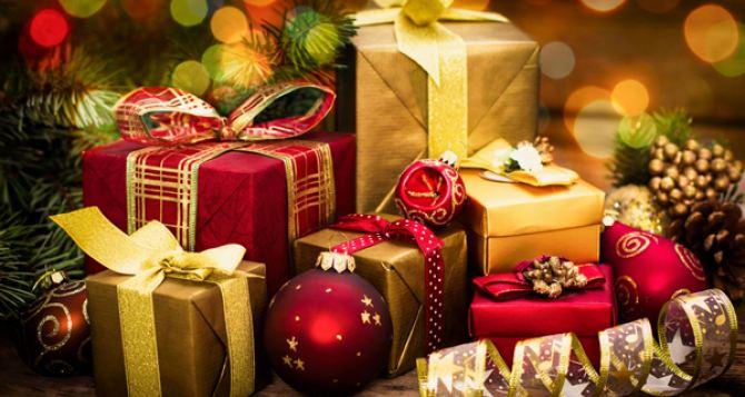 Выдача новогодних подарков начнется в Луганске 19декабря