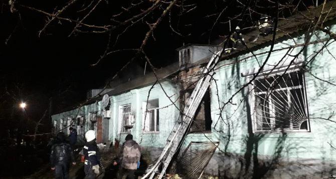 Пожар в психоневрологическом интернате Старобельска. ГБР возбудило уголовное