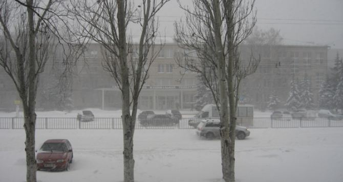 Какая погода ждет луганчан на Новый год