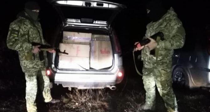 В Донецкой области задержали сигареты с неподконтрольных территорий на четверть миллиона гривен