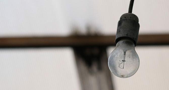В Луганске около 190 домов остались без электроэнергии из-за пожара
