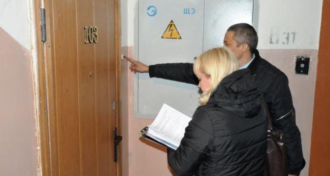 В Луганской области продолжают проверять переселенцев на дому