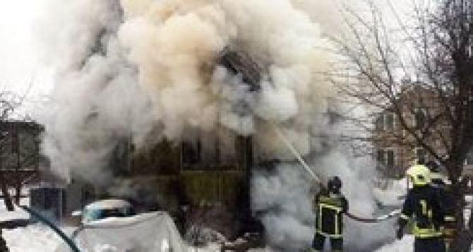 Взрыв газа в Ровеньках. Один погибший, один в тяжелом состоянии