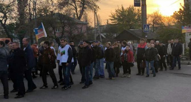 Завтра с утра профсоюзы перекроют дороги в Лисичанске, Кременной и Сватово