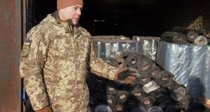 На Донбасс отправили 20 тонн гумпомощи