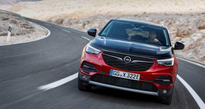 Opel Grandland X— флагманский кроссовер немецкого бренда