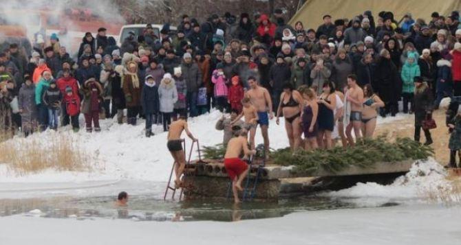 Спасатели определили 31 место для организованного проведения крещенских купаний