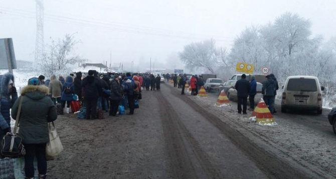 Актуальная информация с КПВВ Донбасса: «Стоим глухо»