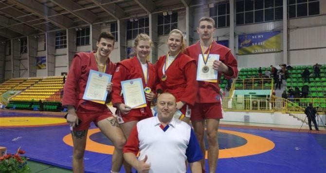 Самбистка  Луганщины стала лучшей на молодежном чемпионате страны