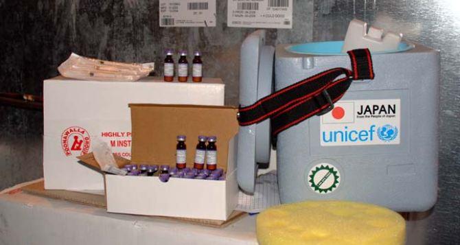 ЮНИСЕФ предоставило медоборудование для Донецкой и Луганской областей