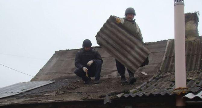 Продолжаются ремонтно-восстановительные работы на Донбассе