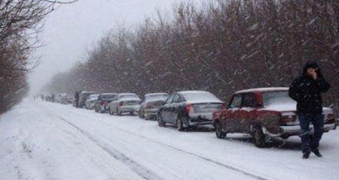 Два КПВВ на Донбассе закрылись из-за непогоды