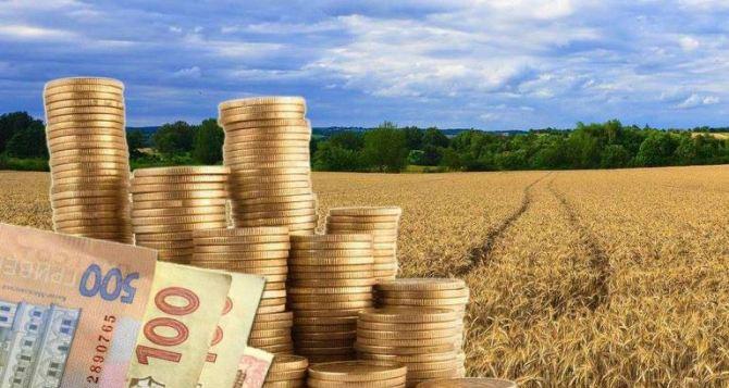 Землепользователи и собственники земли Луганщины уплатили более 25 миллионов налога