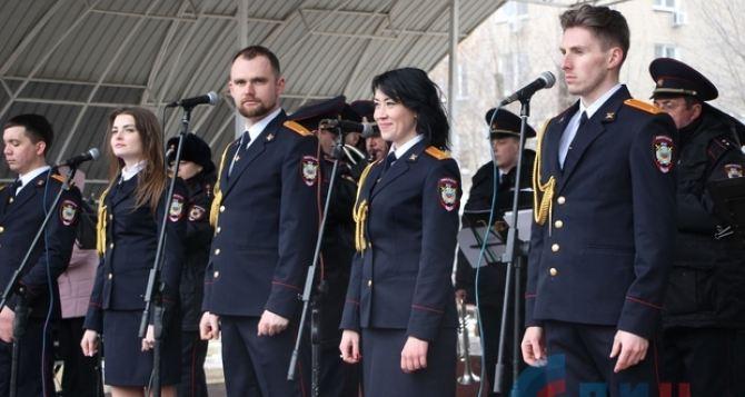 В Луганске в сквере «Молодой Гвардии» прошел праздничный концерт. ФОТО