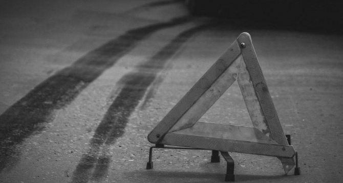 В Луганске иномарка сбила ребенка на пешеходном переходе
