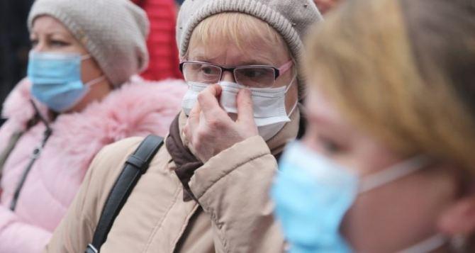 В пяти районах Луганской области превышение эпидемического порога по вирусным инфекциям