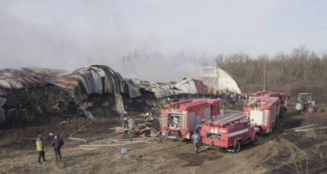 Масштабный пожар в Белакуракино. Горело 800 тонн семечек. ФОТО. ВИДЕО