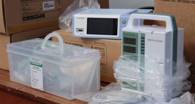 В Луганской области получили медоборудование из госрезерва