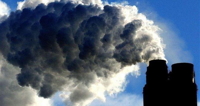 Данные по загрязнению воздуха в феврале в Лисичанске, Северодонецке и Рубежном