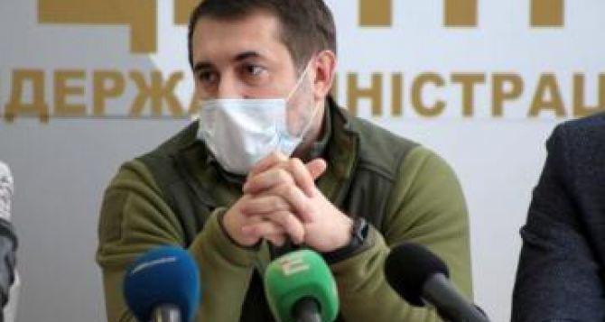 Губернатор Луганщины подтвердил первый случай инфицирования коронавирусом в области